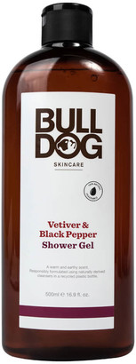 Bulldog Skincare For Men Bulldog Black Pepper & Vetiver Shower Gel 500ml