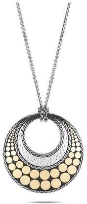 John Hardy Dot Reversible Pendant Necklace