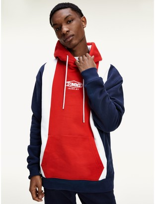 Tommy Hilfiger Organic Cotton Colorblock Hoodie