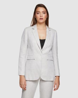 Oxford Lola Pinstripe Blazer