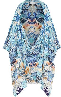 Camilla Tokyo Tribe Printed Silk Crepe De Chine Kimono