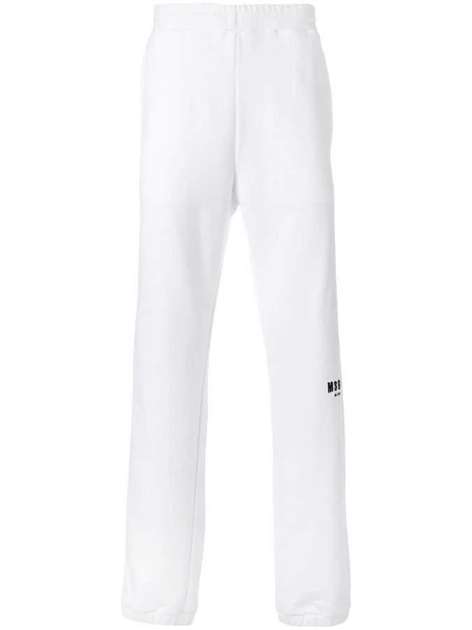 MSGM branded track trousers