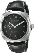 Panerai Men's PAM00388 Radiomir Stainless Steel Watch with Leather Band