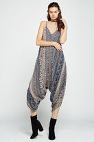 BCBGeneration Sleeveless Geo-Print Harem Jumpsuit