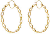 Irene Neuwirth Women's Braided Hoops-GOLD, NO COLOR