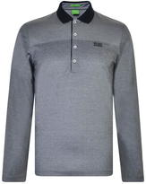 BOSS GREEN Priona Long Sleeved Polo Shirt