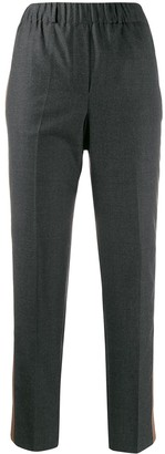 Incotex Side Panel Straight Leg Trousers