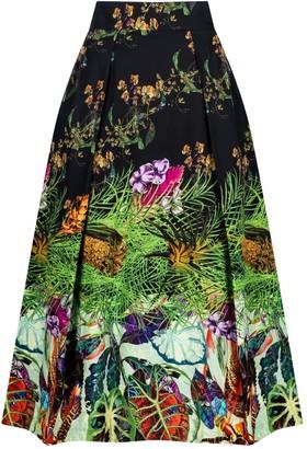 Sika'a Offye Midi Skirt