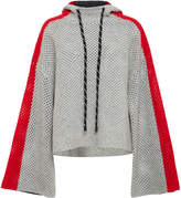 Zoë Jordan Alfaro Stripe Cashmere and Wool Hoodie