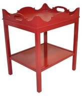 The Well Appointed House Oomph Charleston Side Table with Shelf-Available in 16 Different Colors