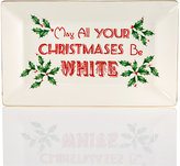 Lenox Home for the HolidaysTM May All Your Christmases Be White Platter