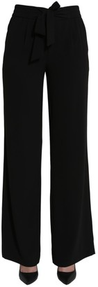 Boutique Moschino Bow Detail Wide Leg Trousers