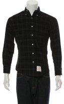 Thom Browne Corduroy Button-Down Shirt