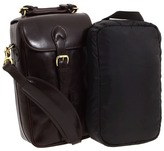Mulholland Brothers - All Leather Two Bottle Wine Carrier (Stout Leather) - Bags and Luggage