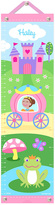 Olive Kids Brown-Haired Princess Personalized Growth Chart