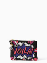 Kate Spade On purpose voila beaded clutch