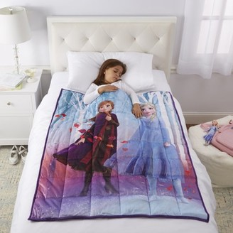 Disney Frozen Disney's Frozen 2 Kids Weighted Blanket, 4.5lb, 36 x 48, Walking to Winter