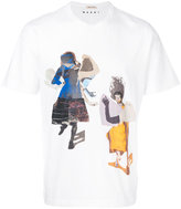 Marni Sally Smart printed T-shirt - men - Cotton - 46