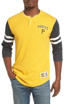 Mitchell & Ness Men's Home Stretch - Pittsburgh Pirates Henley