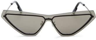 Kenzo Women's Slim Shield Cat Eye Sunglasses, 149mm