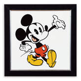 Disney Mickey Mouse ''Mickey Shorts III'' Framed Giclée on Archival Paper by Ethan Allen