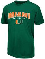 Colosseum Boys' Miami Hurricanes Mesh T-Shirt