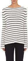 The Row Women's Stretton Striped Cashmere-Silk Sweater