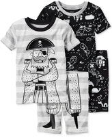 Carter's 4-Pc. Pirates Pajama Set, Little Boys (2T-7) & Big Boys (8-20)