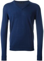 Etro v-neck jumper