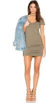 Michael Stars Ruched Mini Dress