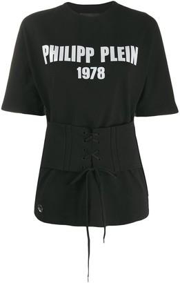 Philipp Plein boyfriend fit logo T-shirt