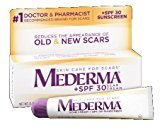 Mederma Scar Cream + SPF 30, 0.7oz. Per Tube (9 Pack)