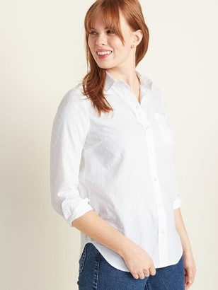 Old Navy Classic Textured Shirt for Women