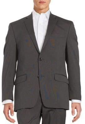 Michael Kors Textured Two-Button Jacket