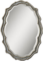 One Kings Lane Traditional Mirror, Silver