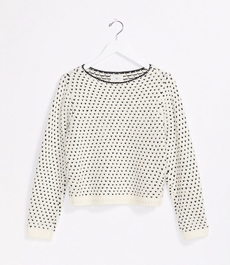 LOFT Lou & Grey Stitchy Sweater