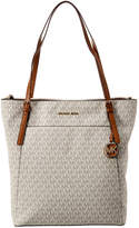 MICHAEL Michael Kors Voyager North/South Leather Tote