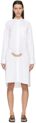 Givenchy White Chain Shirt Dress