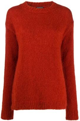 Ann Demeulemeester Textured Knit Jumper