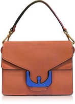 Coccinelle Ambrine Graphic Calendula Leather Satchel Bag