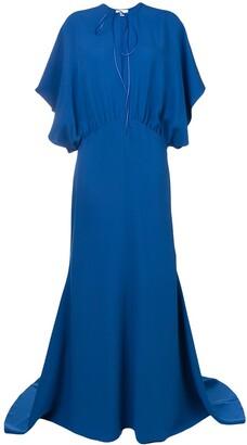 Esteban Cortazar Drape Design Gown