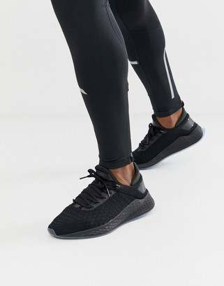 New Balance Running lazr sneakers in triple black
