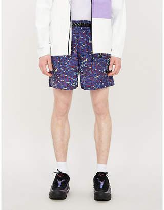 Nike ACG patterned shell shorts