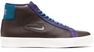 Nike Lace-Up High-Top Trainers