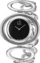 Calvin Klein Women's K1P23102 Graceful Analog Display Swiss Quartz Silver Watch