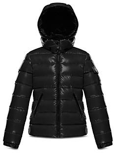 Moncler Unisex Bady Hooded Down Jacket - Big Kid