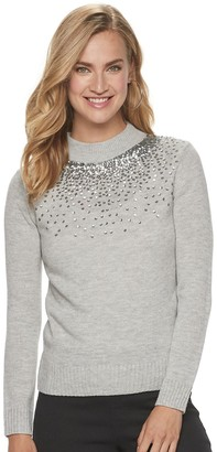 Juicy Couture Women's Gradient-Sequin Sweater