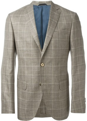 Fashion Clinic Timeless Woven Check Blazer