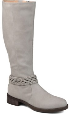 Journee Collection Women's Extra Wide Calf Paisley Boot Women's Shoes