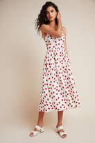 Yumi Kim Fraises Midi Dress